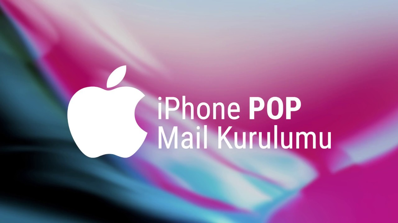 iOS, IPhone Cihazlarda POP3 Mail Kurulumu